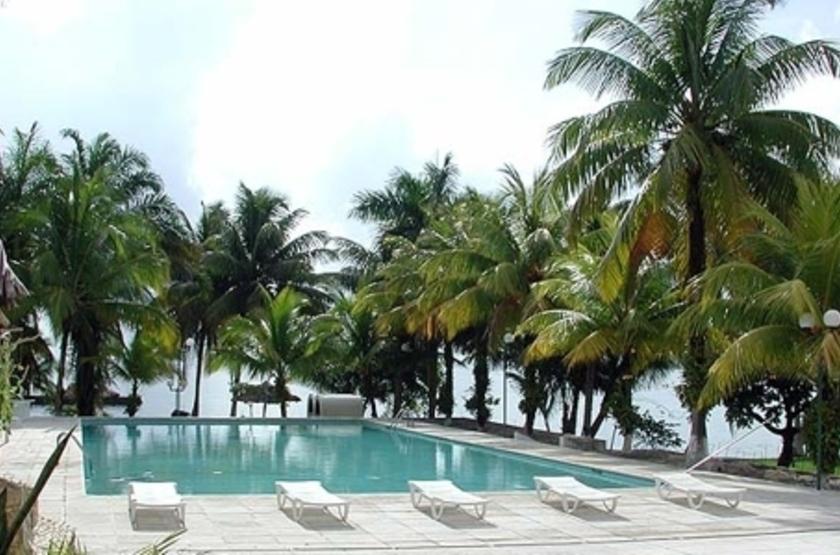 Hôtel Villa Caribe, Livingston, Guatemala, piscine