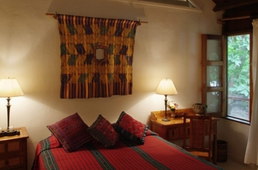 La Lancha Lodge, Lake Peten Itza, Guatemala, chambre
