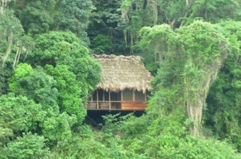 Chiminos Island Lodge, Petexbatun, Guatemala, emplacement