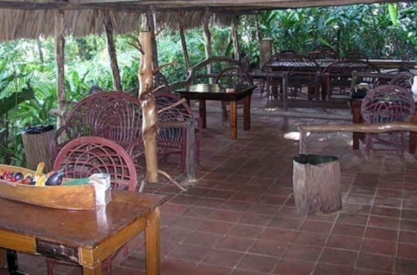Chiminos Island Lodge, Petexbatun, Guatemala, restaurant