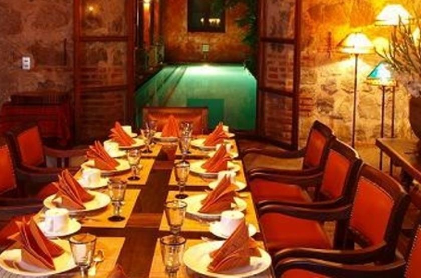 Posada del Angel, Antigua, Guatemala, restaurant