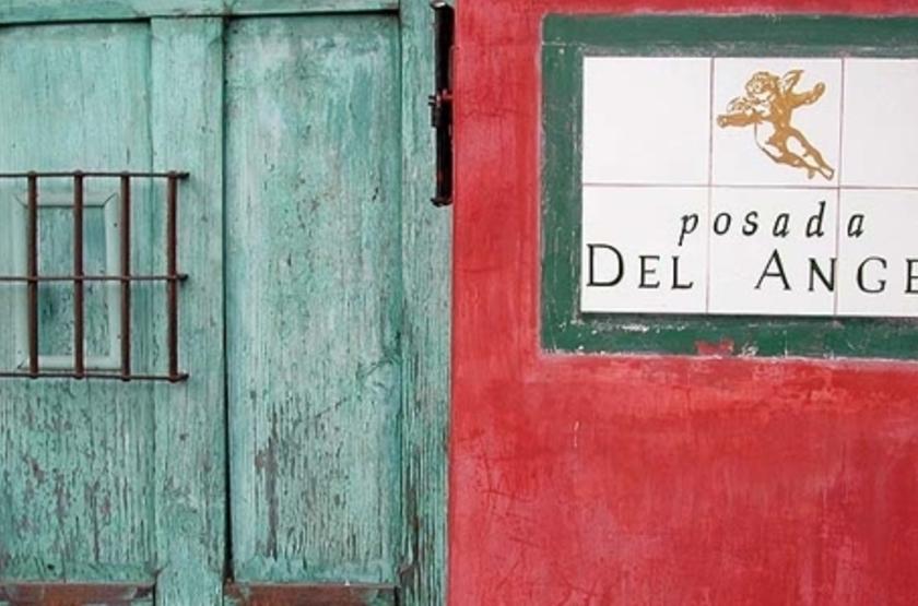 Posada del Angel, Antigua, Guatemala, entrée