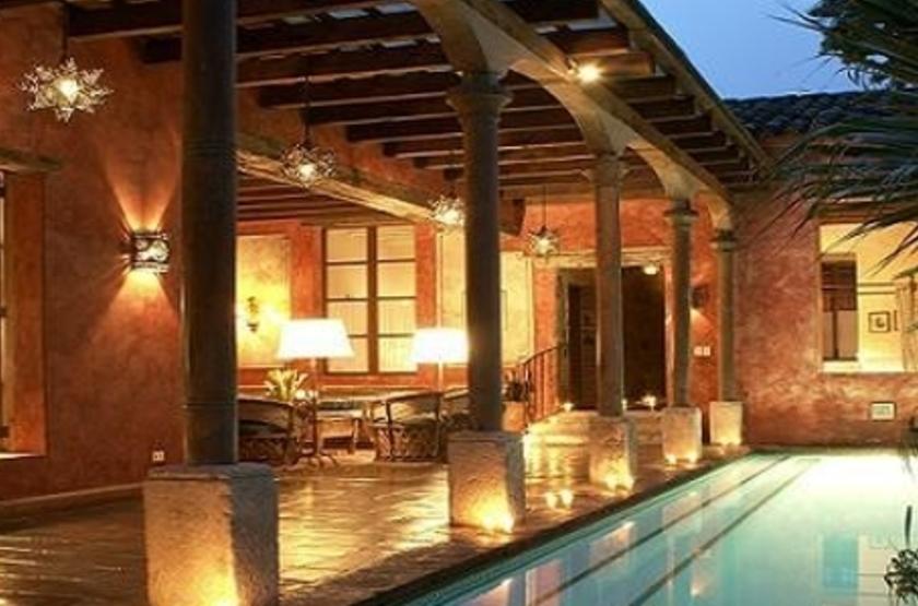 Posada del Angel, Antigua, Guatemala, piscine