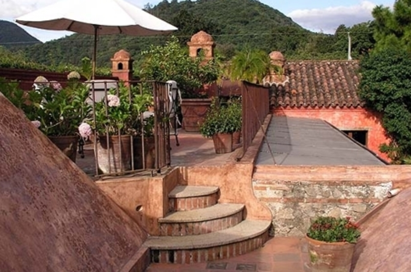 Posada del Angel, Antigua, Guatemala, extérieur