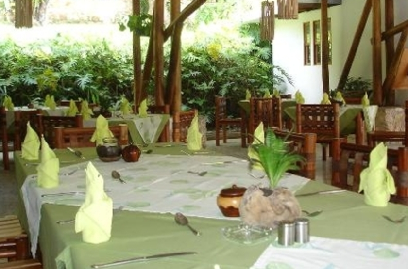 Villa Maya, Flores, Guatemala, restaurant