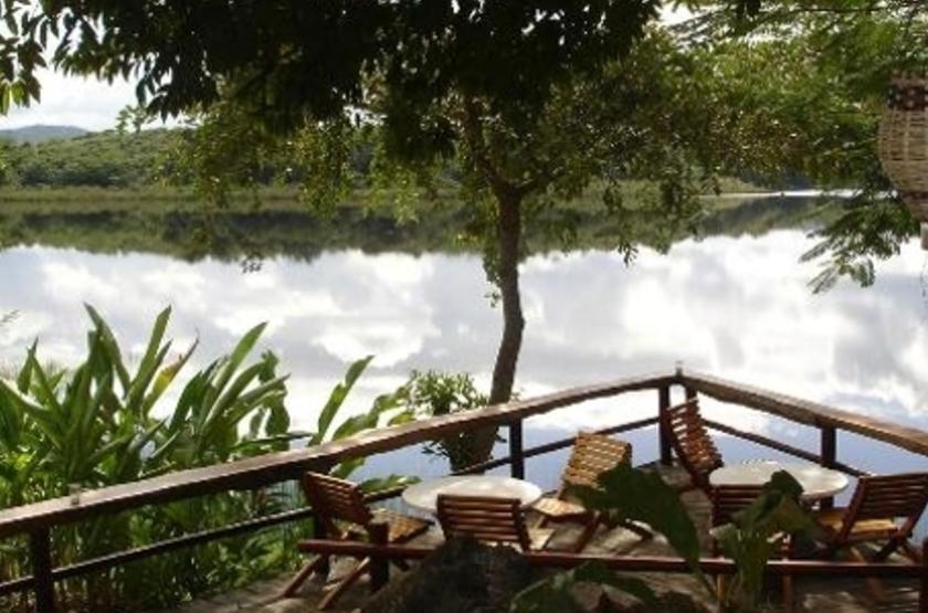 Villa Maya, Flores, Guatemala, terrasse