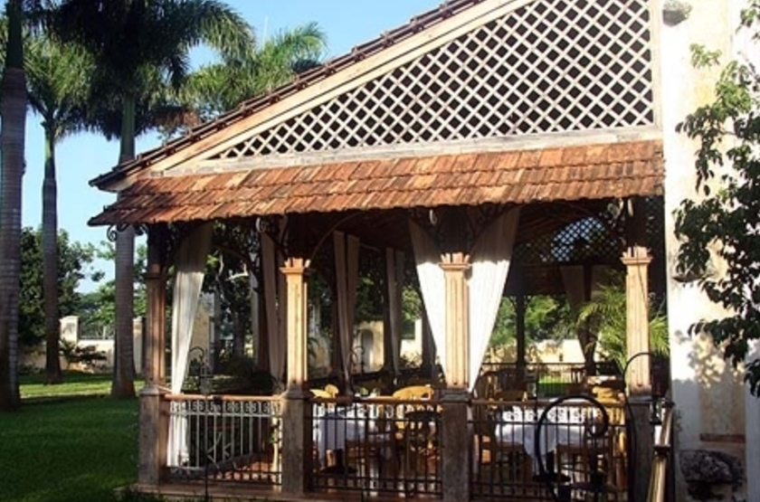 Hacienda Xcanatun, Mérida, Mexique, restaurant