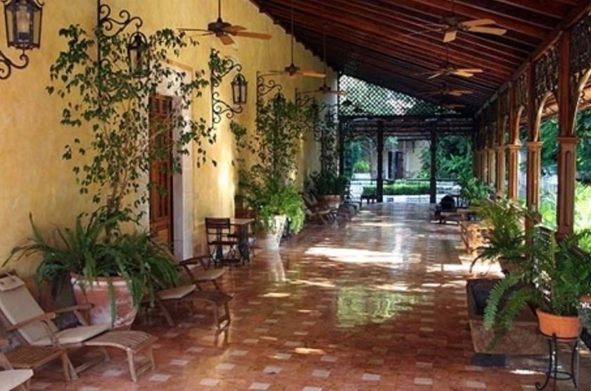 Hacienda Xcanatun, Mérida, Mexique, intérieur