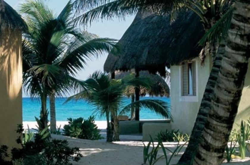 Shangri La Caribe Resort, Playa del Carmen, Mexique, vue mer
