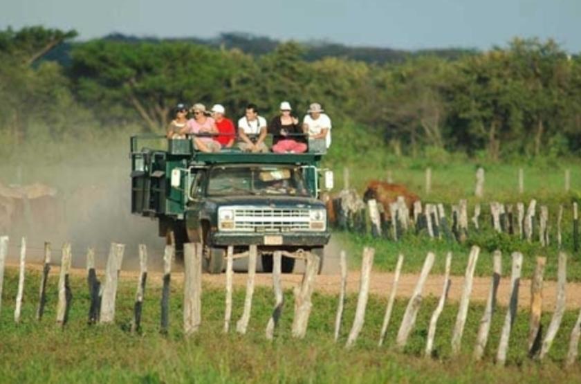 Hato Piñero, Los Llanos, Venezuela, excursion en camion