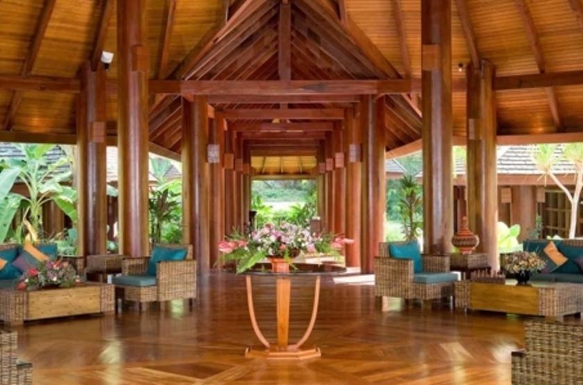 Aureum Resort  Ngapali, Birmanie, lobby