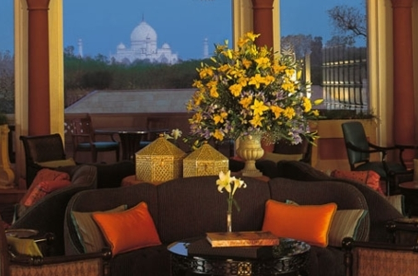 The Oberoi Amarvilas, Agra, Inde, salon