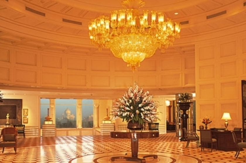 The Oberoi Amarvilas, Agra, Inde, lobby