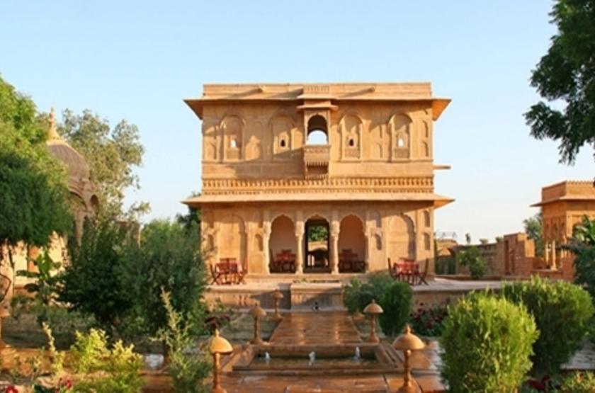 Mool Raj Sagar Camp, Jaisalmer, Inde, extérieur