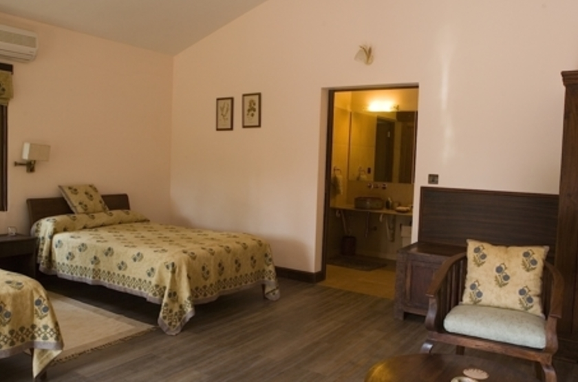 Singinawa Jungle Lodge, Parc de Kanha, chambre