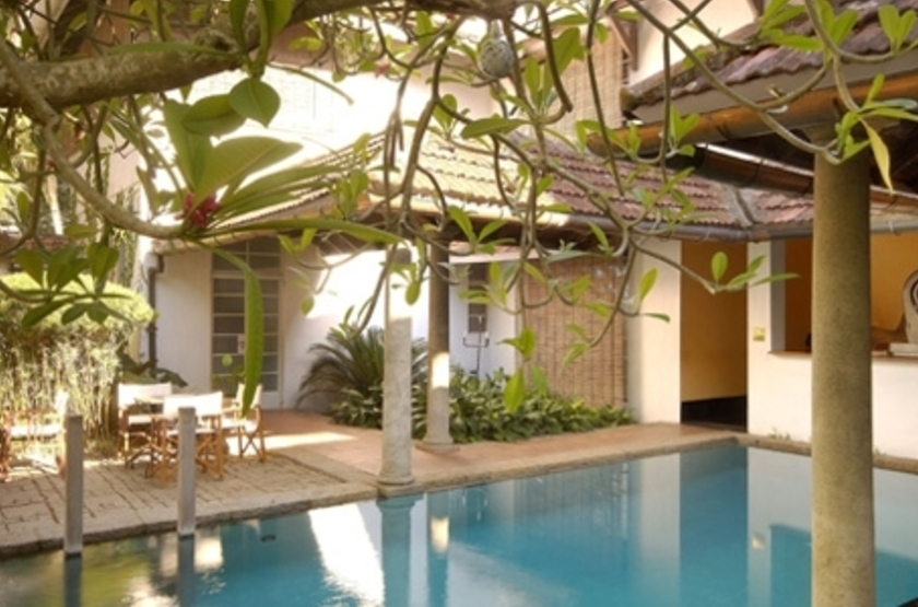 The Malabar House, Cochin, Inde, piscine
