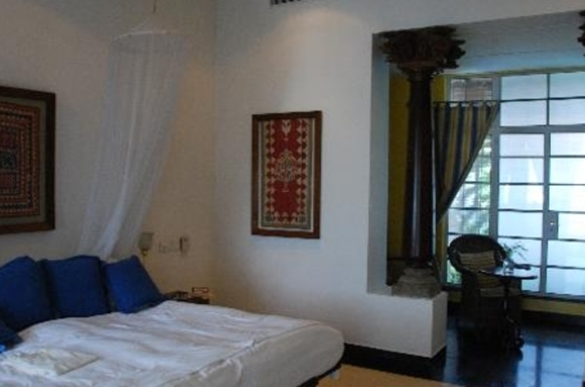 The Malabar House, Cochin, Inde, chambre