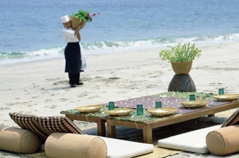 Alila Manggis Candidasa, Bali, Indonésie, plage
