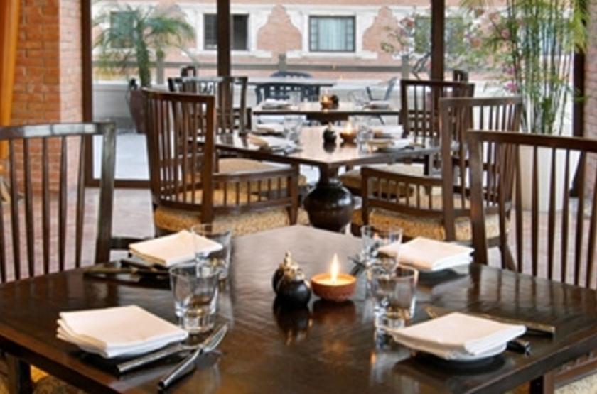 Hyatt Regency Kathmandu, Népal, restaurant