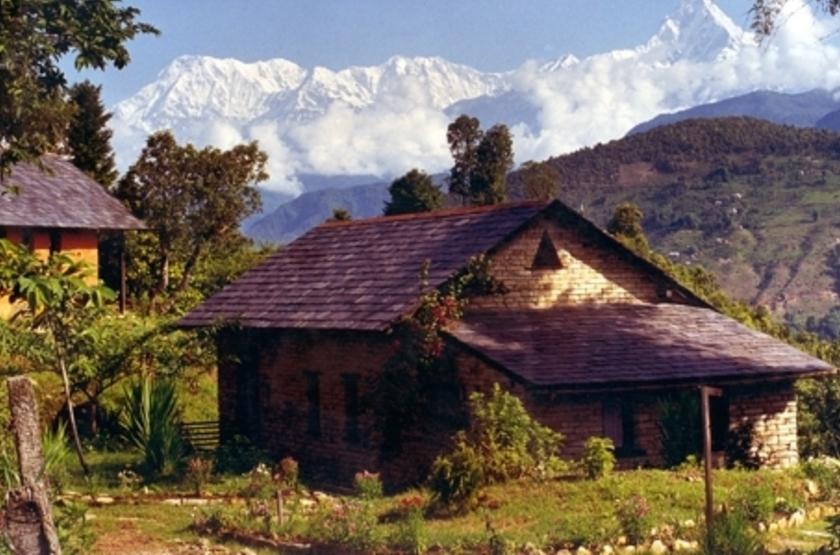 Tiger Mountain Pokhara Lodge, Népal, extérieur
