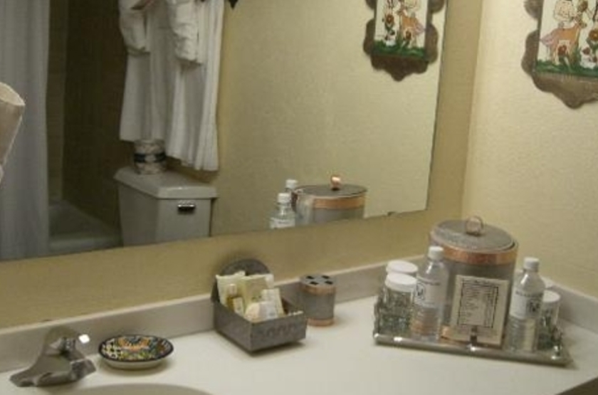 Inn of the Governors, Sante Fe, Etats Unis, salle de bains