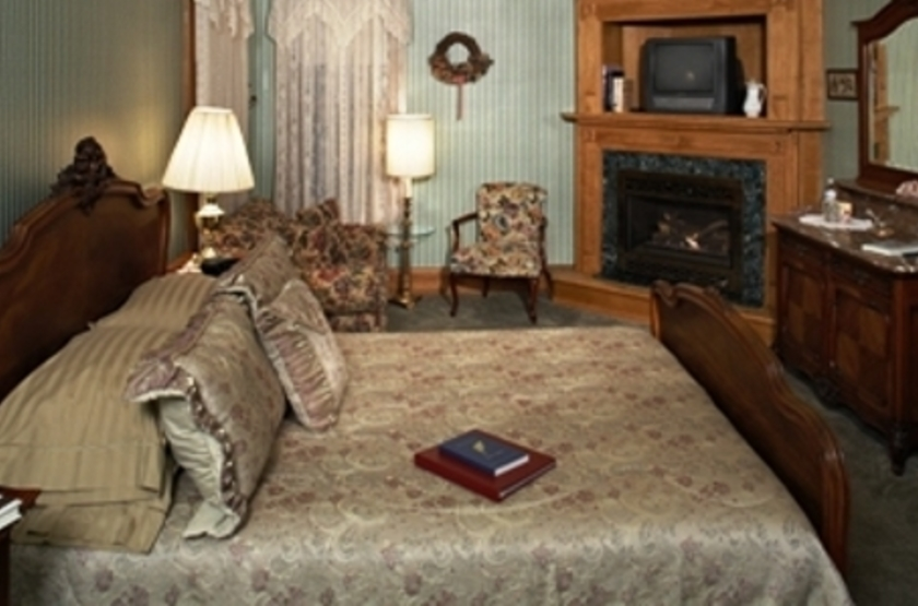 Inn of the Governors, Sante Fe, Etats Unis, chambre avec cheminée