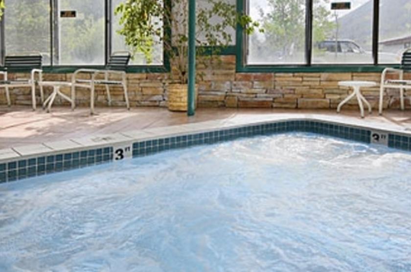 Hampton Inn Jackson Hole, Wyoming, Etats Unis, piscine intérieure