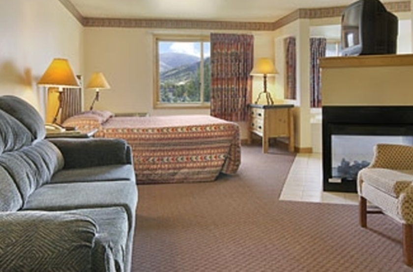Hampton Inn Jackson Hole, Wyoming, Etats Unis, chambre