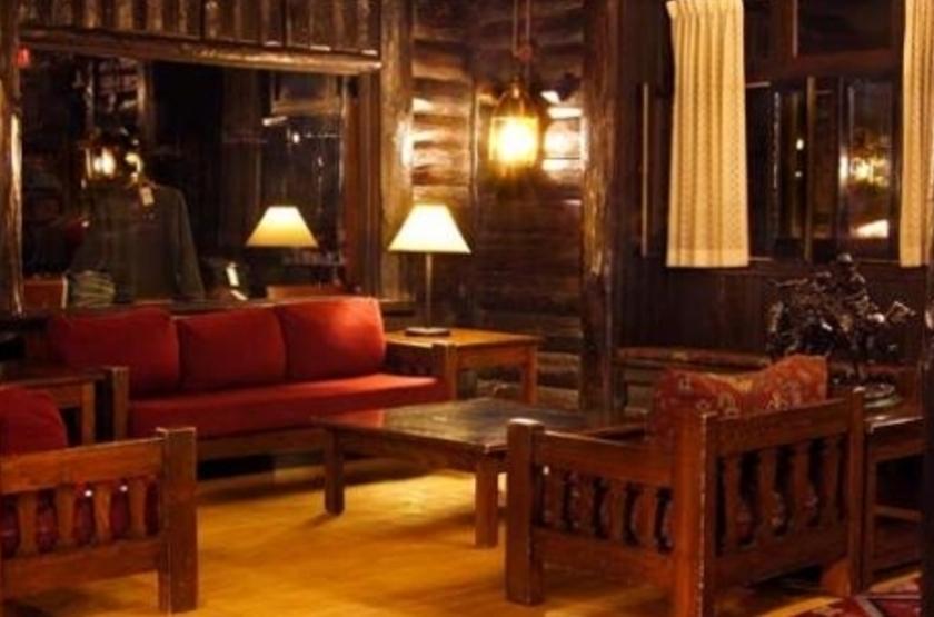 Hôtel El Tovar, Grand Canyon, Etats Unis, salon