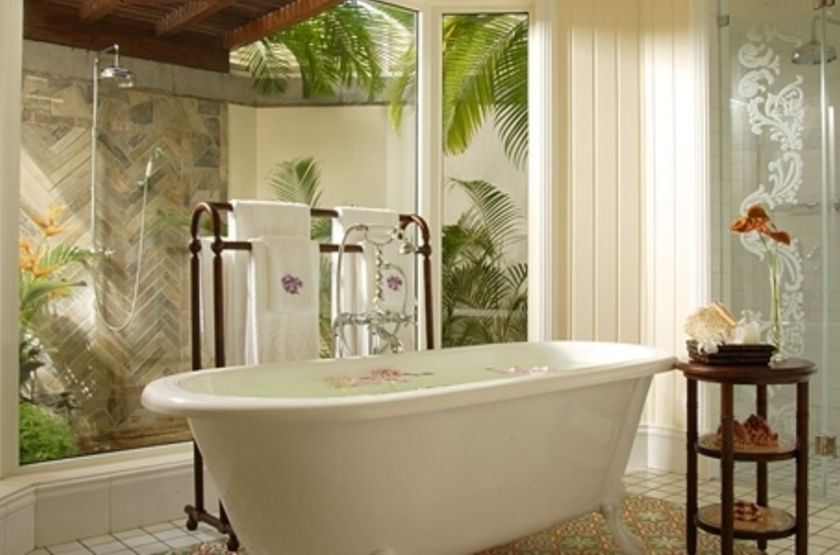Le Telfair Golf & Spa Resort, Ile Maurice, salle de bains