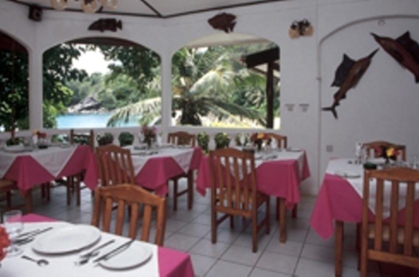 Anse Soleil Beachcomber, Mahé, Seychelles, restaurant