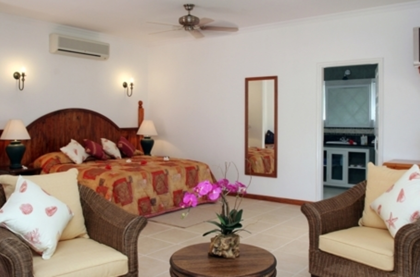 L'hôtel le Duc de Praslin, Seychelles, chambre
