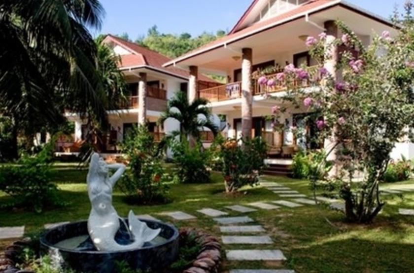 L'hôtel le Duc de Praslin, Seychelles, extérieur
