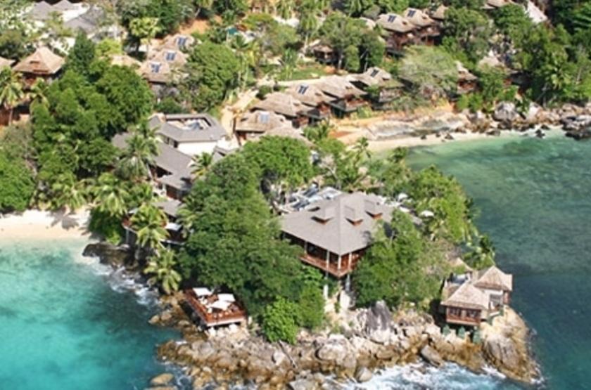 Northolme Hilton & Spa, Mahé, Seychelles, vue aérienne