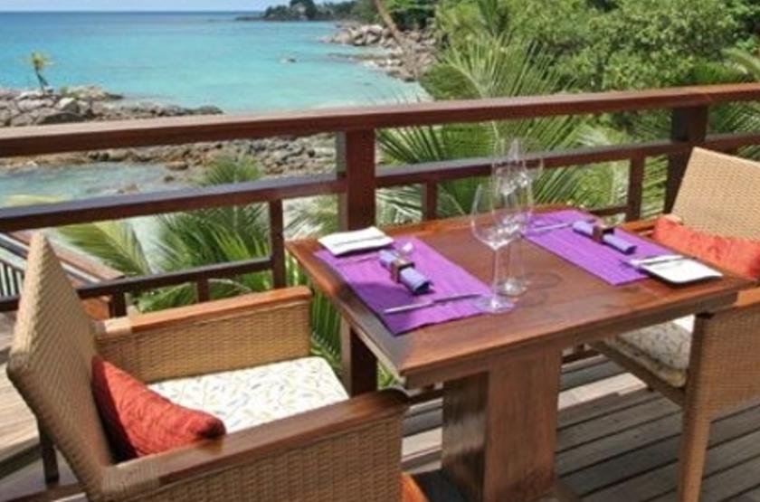 Northolme Hilton & Spa, Mahé, Seychelles, terrasse