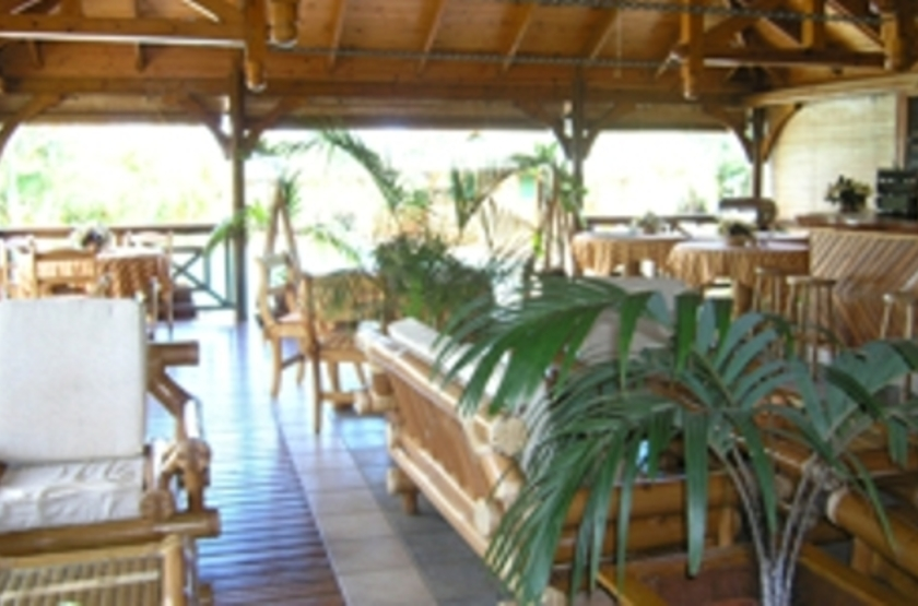 Le Jardin des Palmes, Mahé, Seychelles, restaurant bar