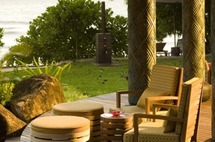 Maia Luxury Resort & Spa, Mahé, Seychelles, terrasse