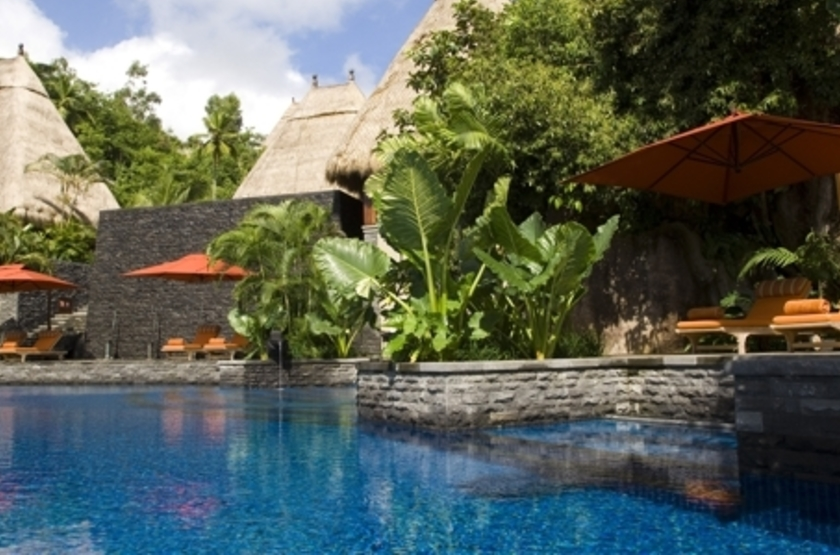 Maia Luxury Resort & Spa, Mahé, Seychelles, piscine