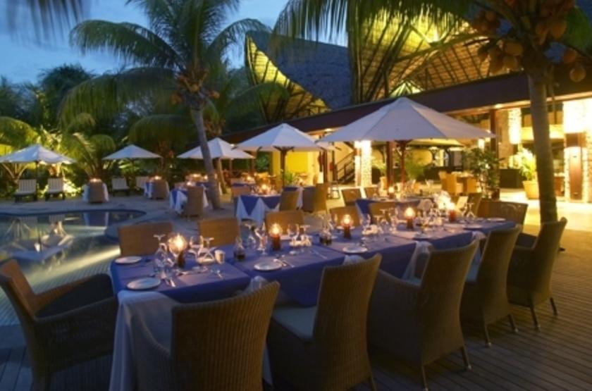 Paradise Sun, Praslin, Seychelles, restaurant