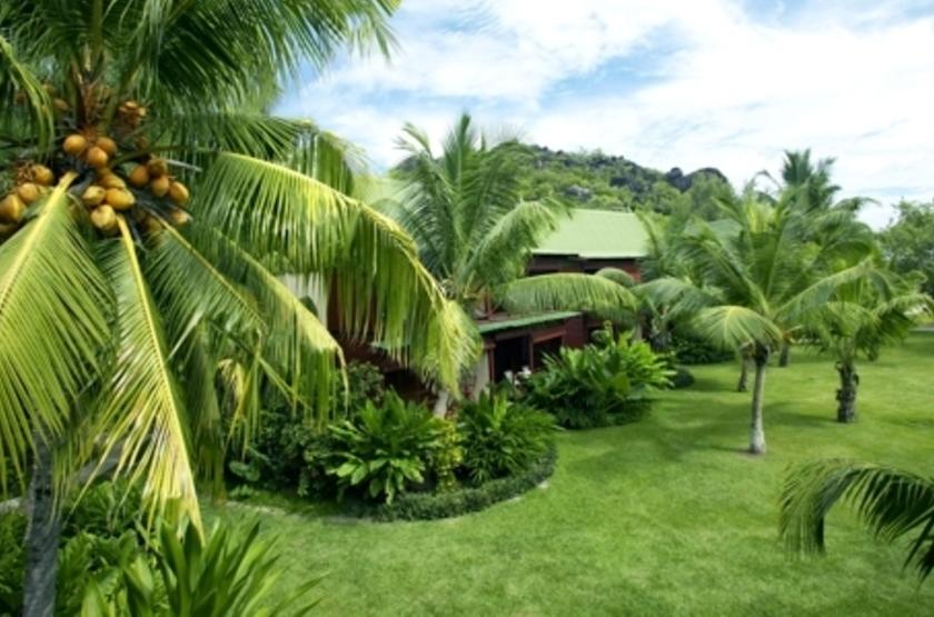 Paradise Sun, Praslin, Seychelles, jardins