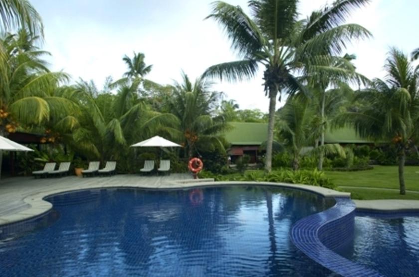 Paradise Sun, Praslin, Seychelles, piscine