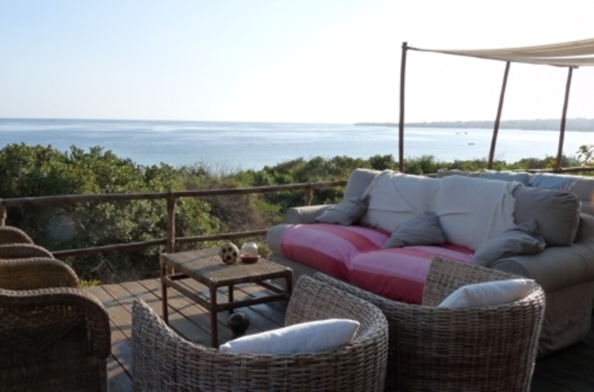 Nuarro Beach Lodge - Baie de Memba, terrasse