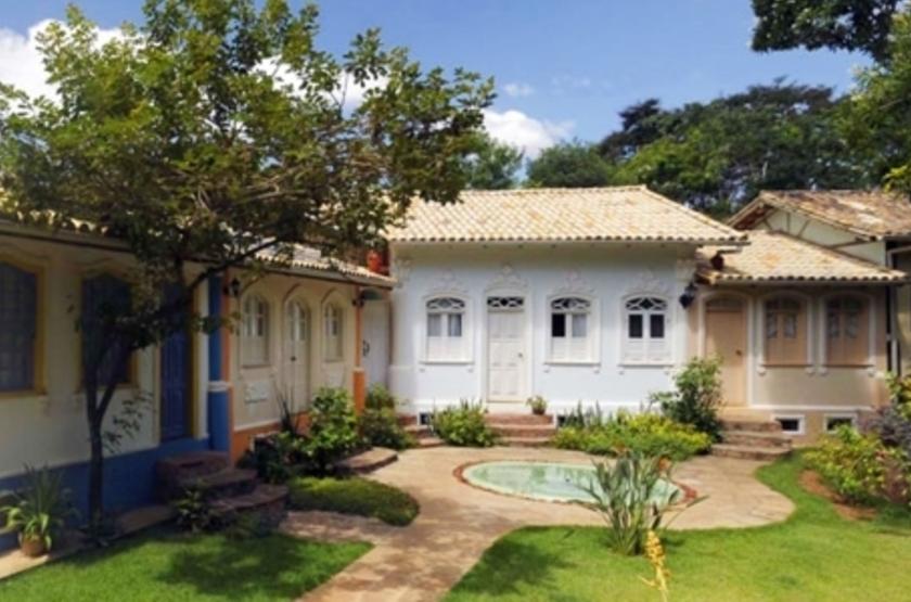 Pousada Villa Serrano, Lençois, Brésil, extérieur