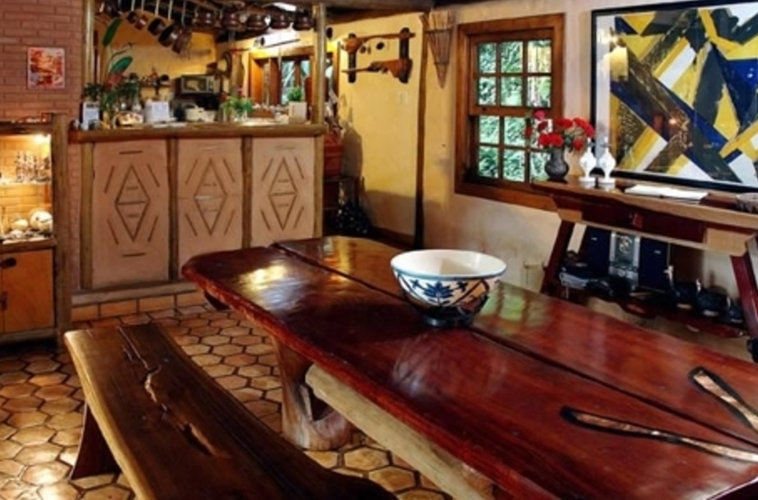 Pousada Villa Serrano, Lençois, Brésil, bar