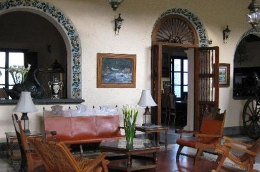 Posada Coatepec, Xalapa, Mexique, terrasse