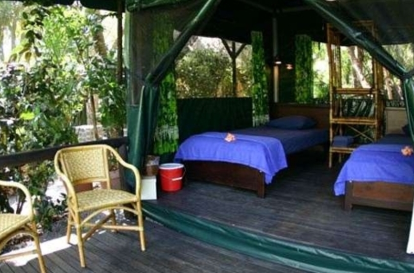Lodge Ylang Ylang, Manzanillo, Costa Rica, terrasse
