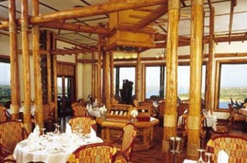 Mweya Lodge, Queen Elisabeth Park, Ouganda, restaurant