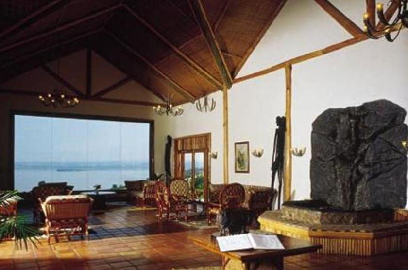 Mweya Lodge, Queen Elisabeth Park, Ouganda, salon
