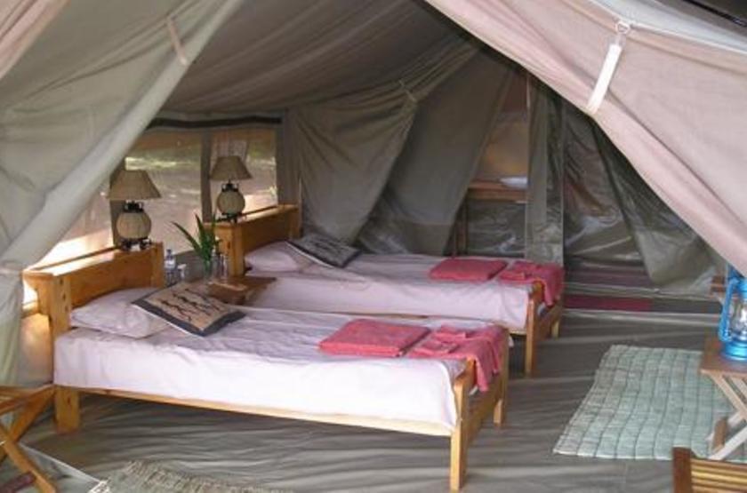 Ishasha Tented Camp, Ouganda, tente