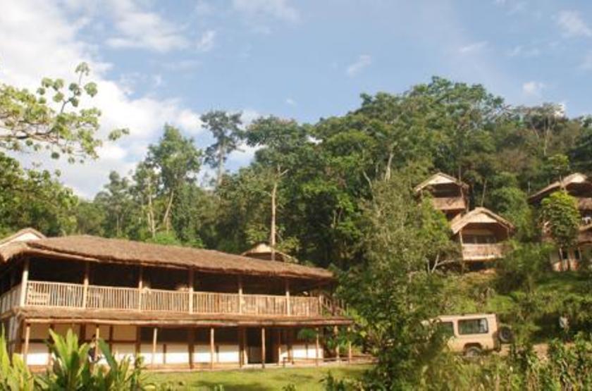 Buhoma Lodge, Bwindi, Ouganda, extérieur